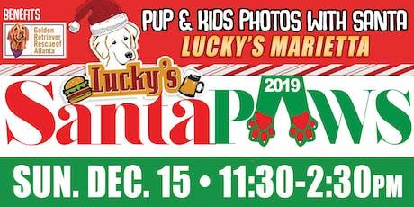 Santa Paws Photos with Santa Lucky's Marietta tickets