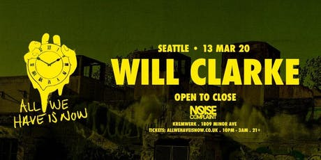 Noise Complaint ft. Will Clarke (open-to-close) tickets