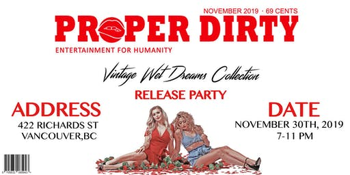 """""""Vintage Wet Dreams Collection"""" Release Party"""