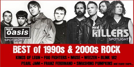 Oasis + The Killers Spotlight: Best of 90s/00s ROCK: Charity Christmas BASH tickets