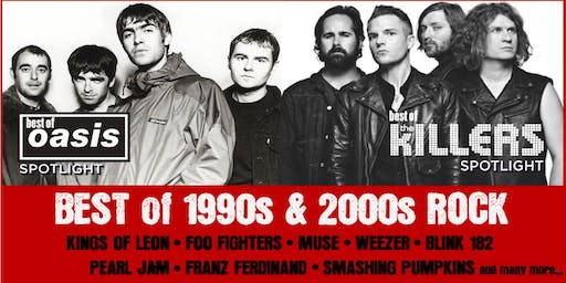 Oasis + The Killers Spotlight: Best of 90s/00s ROCK: Charity Christmas BASH