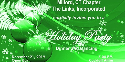 Milford CT Chapter The Links Incorporated Holiday Party