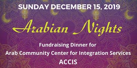 Arabian Nights Fundraiser tickets