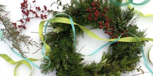 Holiday Wreath Workshop at The Oregon Garden