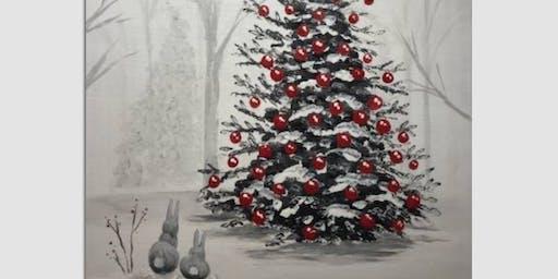 Paint Nite - Did Somebunny Say Christmas?
