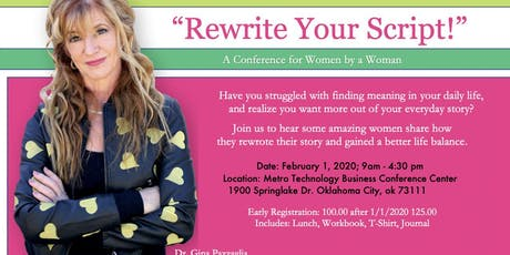 Rewrite Your Script Conference tickets
