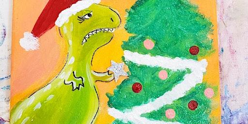 12/11 $22 Merry REXmas @ Paint Like ME!