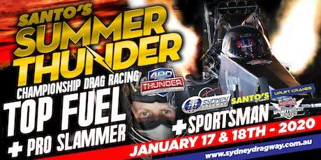 Santo's Summer Thunder - January 17 &18 2020 tickets