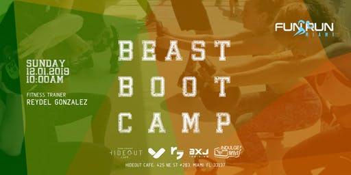 Fun Run Miami - Beast Boot Camp - December 2019