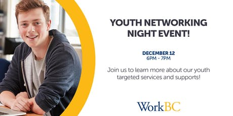 Youth Networking Event tickets