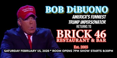 Bob DiBuono Valentine's Show at Brick 46 tickets