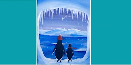 Family Penquin Painting Event @ The SureStay tickets