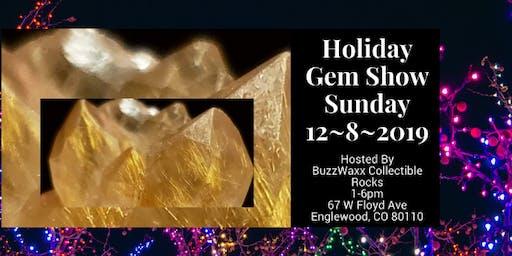 Holiday Gem Show - Sunday 12/8/2019 at COBALT