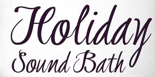 Holiday Sound Bath with Ruthann