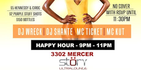 Thanksgiving Eve Bash At Story Ultra Lounge tickets