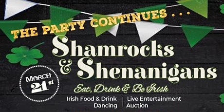 Shamrocks & Shenanigans 2020 tickets