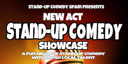 New Act Comedy Showcase in Estepona