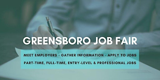 Greensboro Job Fair - May 12, 2020 - Career Fair