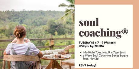 Soul Coaching Group - Swift Current & Online Zoom tickets