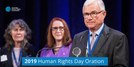 2019 Human Rights Day Oration tickets