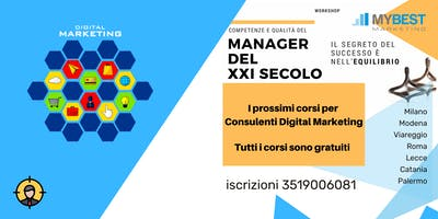 Catania Il Web Marketing e le Imprese evento gratuito!