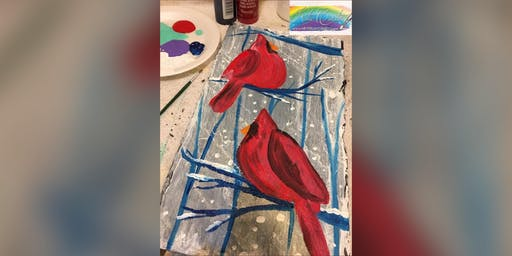2for1 Cardinals : Pasadena, Greene Turtle with Artist Katie Detrich!