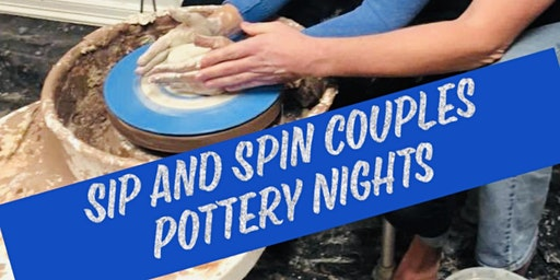 Sip and Spin Couples Pottery Night