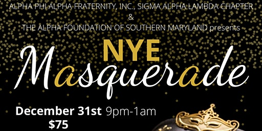 NYE Masquerade Party
