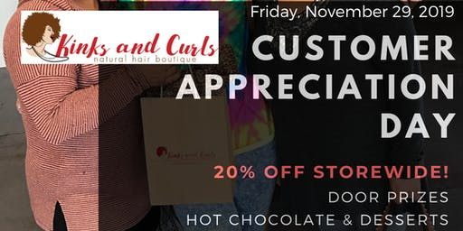 Holiday Naturals - Customer Appreciation Day