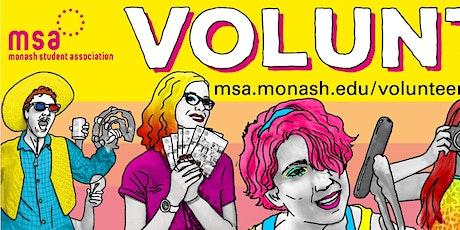MSA Volunteering: Information Sessions tickets