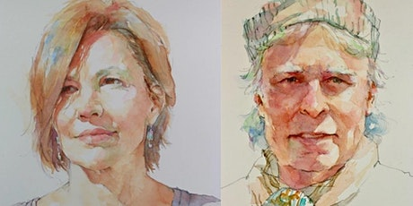Quick Sketch Watercolor Portraits - 3 Day workshop tickets