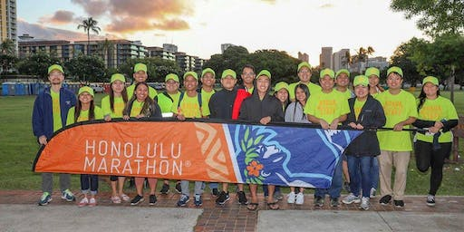 HCJ Volunteers @ 2019 Honolulu Marathon