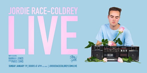 Jordie Race-Coldrey: LIVE