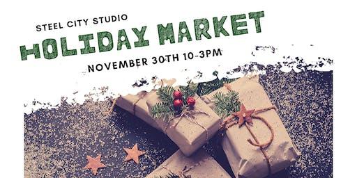 Steel City Studio Holiday Market