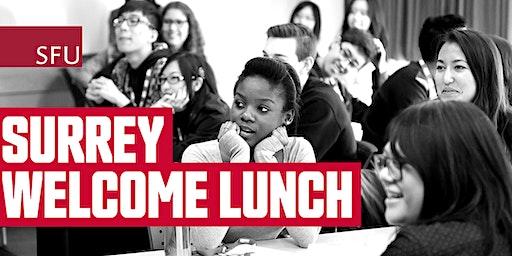 SFU Surrey Welcome Lunch