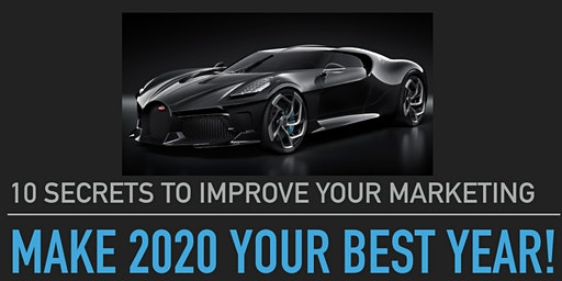 Make 2020 Your Best Year - 10 Marketing Secrets To Hack Your Success