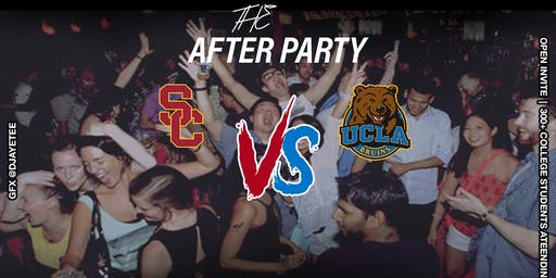 USC Vs UCLA After Party