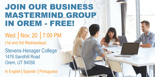 Mastermind Group for Entrepreneurs and Small Businesses