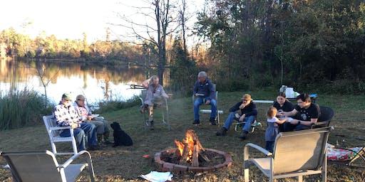 The Earthius Winter Celebration Bonfire