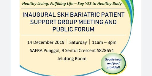 Inaugural SKH Bariatric Patient Support Goup Meeting and Public Forum