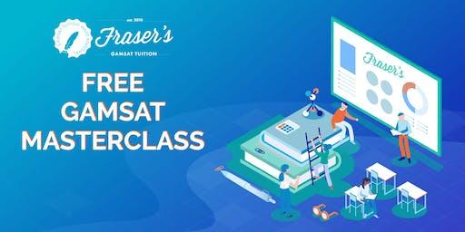 Free Perth GAMSAT Masterclass