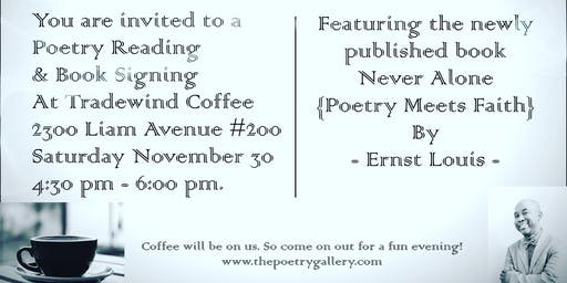 Poetry Reading & Book Signing