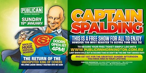 Captain Spalding LIVE at Publican, Mornington!