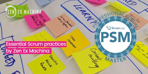 Professional Scrum Master Certification (PSM I) course with Scrum.Org - Brisbane