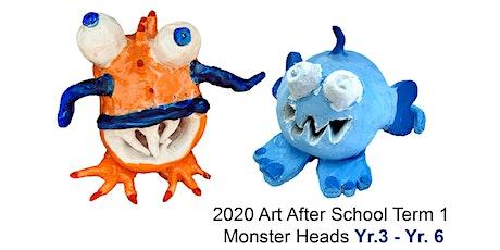 Design & Create Monster Heads in 2D & 3D: Yr.3 - Yr.6 tickets