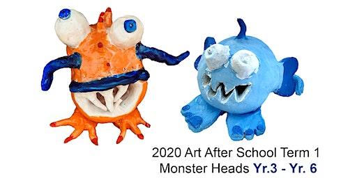 Design & Create Monster Heads in 2D & 3D: Yr.3 - Yr.6