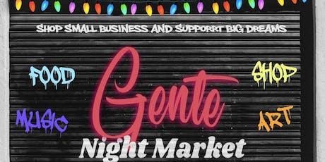 Gente Night Market tickets