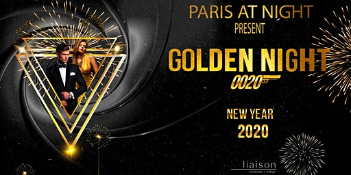New Year's Eve - Golden' Night  2020- by Paris at Night