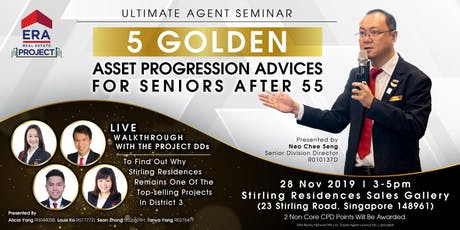 [UAS] 5 Golden Asset Progression Advices For Seniors After 55 tickets