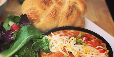 A Brunch cooking class: Shakshuka & Challah bread & option of yoga before! tickets